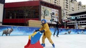 Photo Ouest France : une-patinoire-en-plein-air-rennes