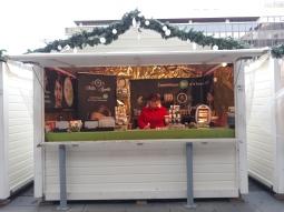 Cosmétiques au Marché de Noël de Rennes