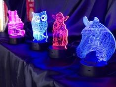 Lampes 3D