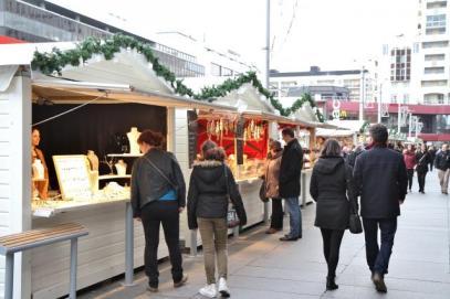 balade sur le marché de noël de rennes