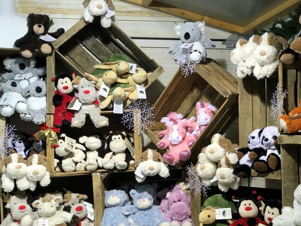 peluche bouillotte au marché de noël de rennes colombia