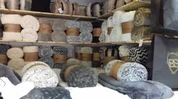 plaids cocooning au marché de noël de rennes colombier